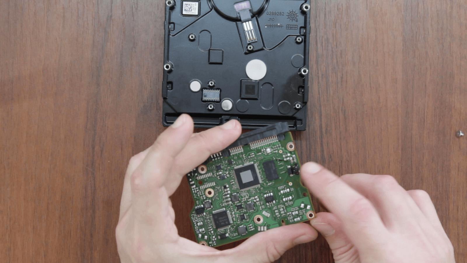Ремонт жестких дисков WD