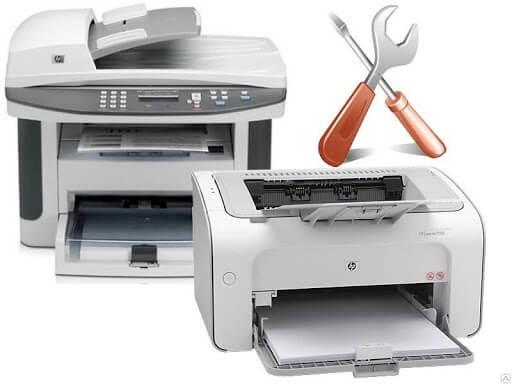 Что сломалось, если принтер бледно печатает
